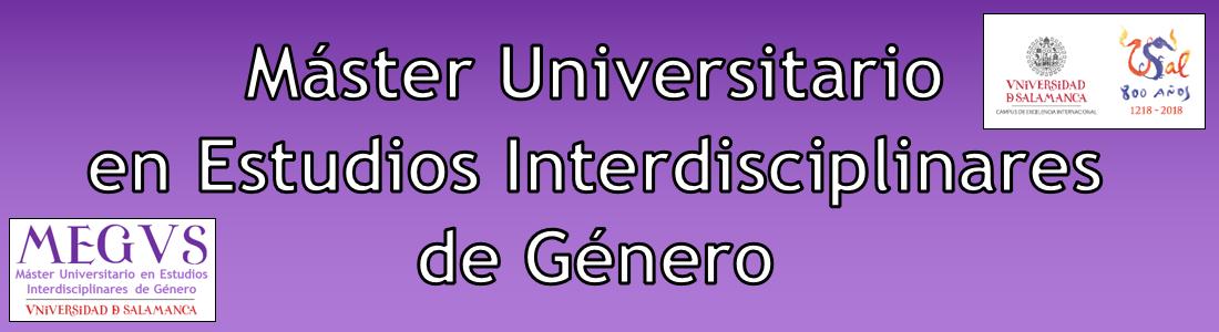 Máster Universitario en Estudios Interdisciplinares de Género